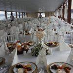 Bosphorus Teknesinden Yemekli Sunum