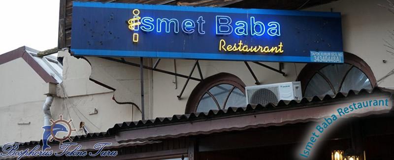İstanbıul İsmet Baba Balık Restaurantının dışarısından bir fotoğraf