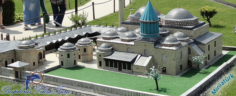 Miniatürk İstanbul'dan bir cami yapısı fotoğrafı