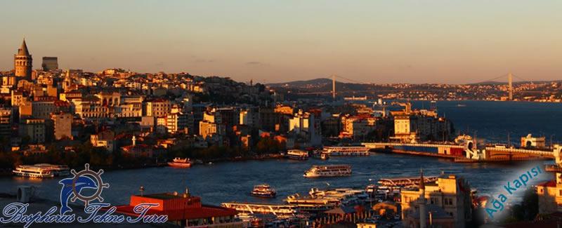 İstanbul Ağa Kapısı'ndan bir manzaralı fotoğraf