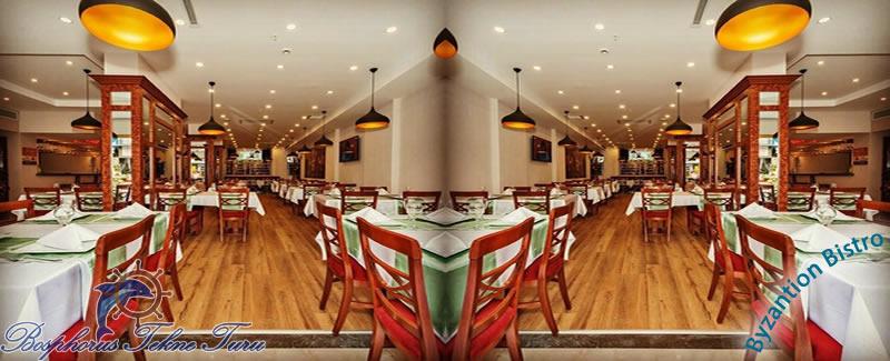 İstanbul Byzantion Bistro Restaurant içerisinden bir fotoğraf