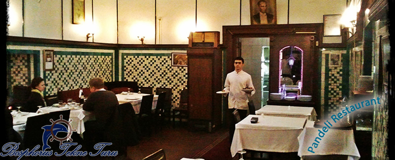 İstanbul Pandeli Restaurant mekanının içerisinden bir fotoğraf