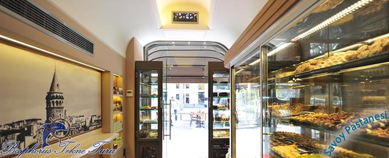 Savoy Pastanesi İstanbuldan bir fotoğraf