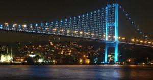 İstanbul Boğazının eşsiz manzarası