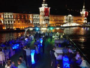 İstanbul Boğazında Tekne Turu
