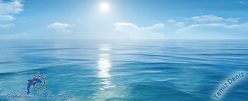 Denizleri temiz tutalım güneş ve denizin ahengi