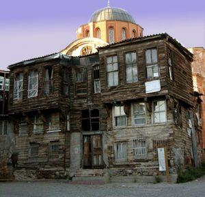 İstanbuldaki Vakıf Binası vasfındaki tarihte kullanılmış bir bina
