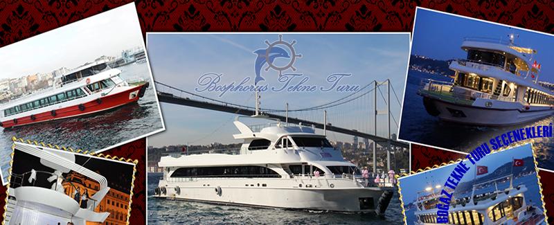 İstanbul Boğazındaki Tekne Turu seçenekleri hakkında
