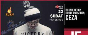 Ceza 22 Şubat İstanbul Konseri