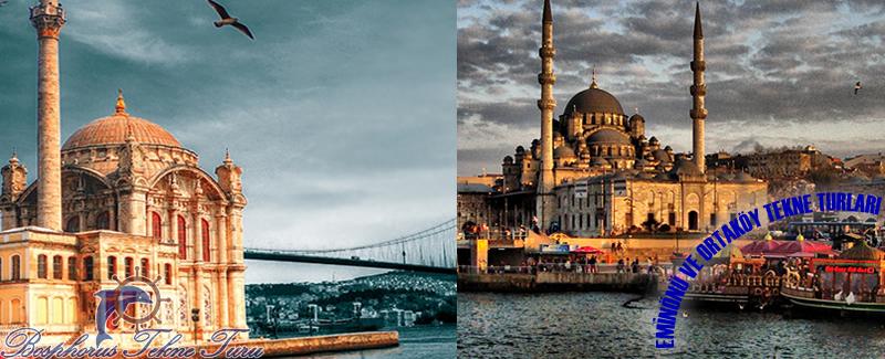 Eminönü ve Ortaköy'den Kalkan Şehir Hatları Boğaz Turları