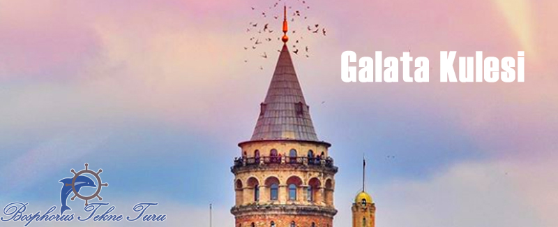 İstanbul Galata Kulesinden bir fotoğraf