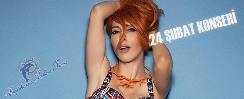 Hande Yener 24 Şubat İstanbul  Konseri