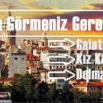 istanbul manzaralı fotoğraf